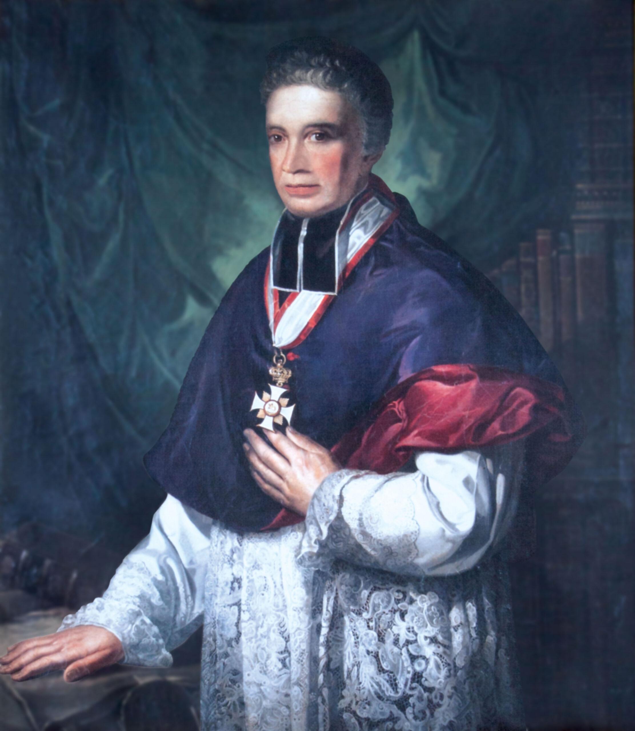Der Domdekan zu Mainz im Porträt