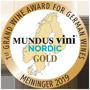 Mundus Vini Nordic Gold Medaille